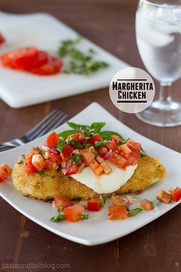 Margherita Chicken | www.tasteandtellblog.com
