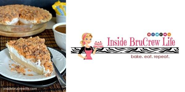 Peanut Butter Butterfinger Pie by Inside BruCrew Life