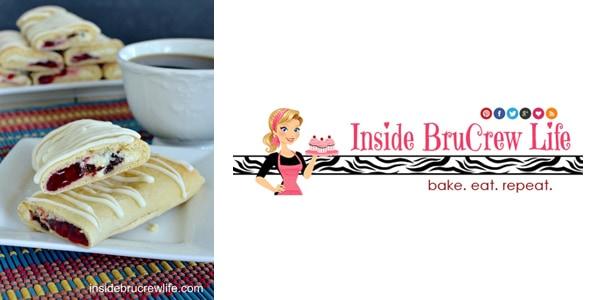 Raspberry Chocolate Chip Cheesecake Rolls by Inside BruCrew Life