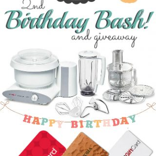 What's Cooking with Ruthie 2nd Birthday Bash Giveaway