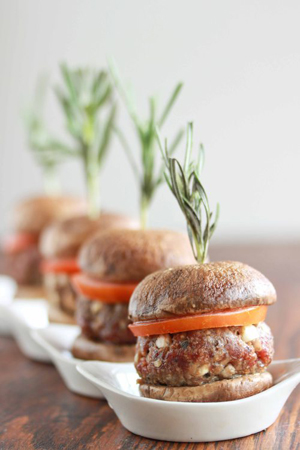 Mushroom Beef Sliders by Tales of an Overtime Cook