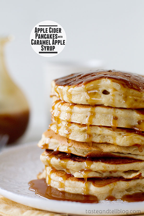 Apple Cider Fall Pancakes | Sweet Treats to Bake This Fall | Sweet Treats List