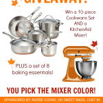 Cookware and KitchenAid Giveaway | www.tasteandtellblog.com