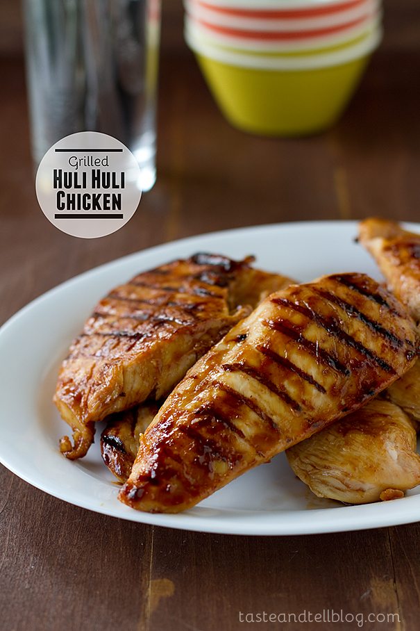 Grilled Huli Huli Chicken | www.tasteandtellblog.com