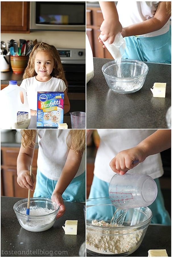 Making PIllsbury Lil' Donuts   www.tasteandtellblog.com