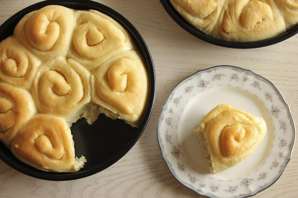 Buttery Sourdough Rolls from Eat Your Heart Out
