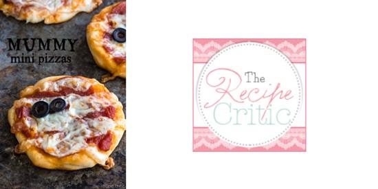 Mummy Mini Pizzas from The Recipe Critic