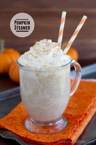 Pumpkin Steamer | www.tasteandtellblog.com