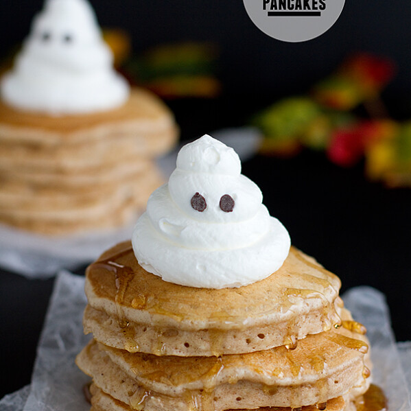 Spiced Ghost Pancakes | Taste and Tell