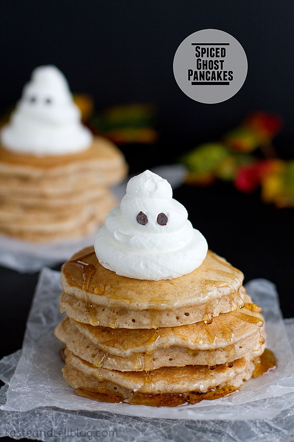 Spiced Ghost Pancakes from Taste and Tell