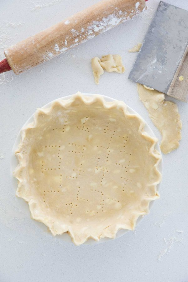 Pie Crust Recipe in Pin Plate