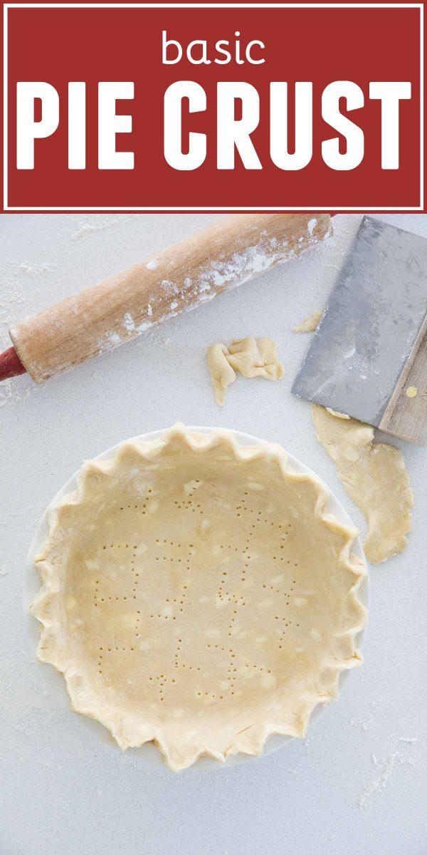Pie Crust Recipe in Pin Plate