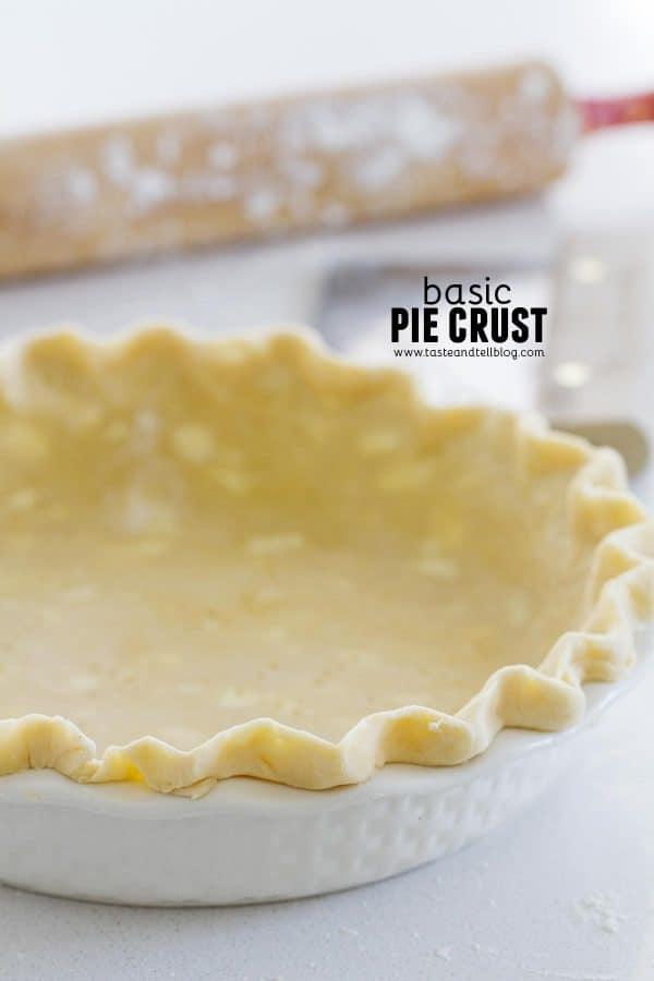 How to make Basic Pie Crust Recipe