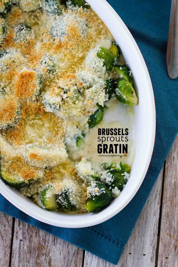 How to make Brussels Sprouts Gratin