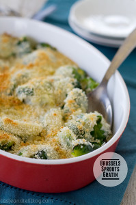 Brussels Sprouts Gratin | Taste and Tell