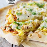 Mexican Turkey Breakfast Pizza from www.tasteandtellblog.com