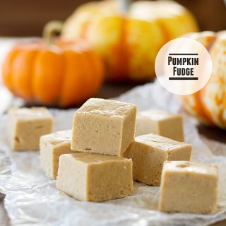 This holiday Pumpkin Fudge recipe brings the taste of the season with pumpkin, white chocolate and marshmallow.