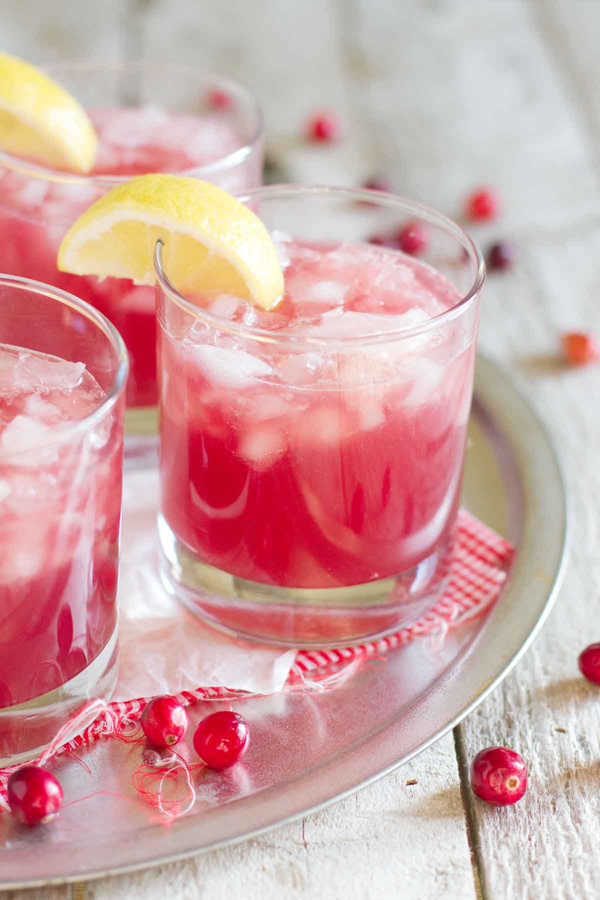 sparkling cranberry punch taste and tell