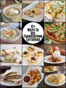 12 Ways to Use Thanksgiving Leftovers on www.tasteandtellblog.com