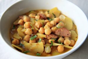 Spanish Bean Soup from The Noshery