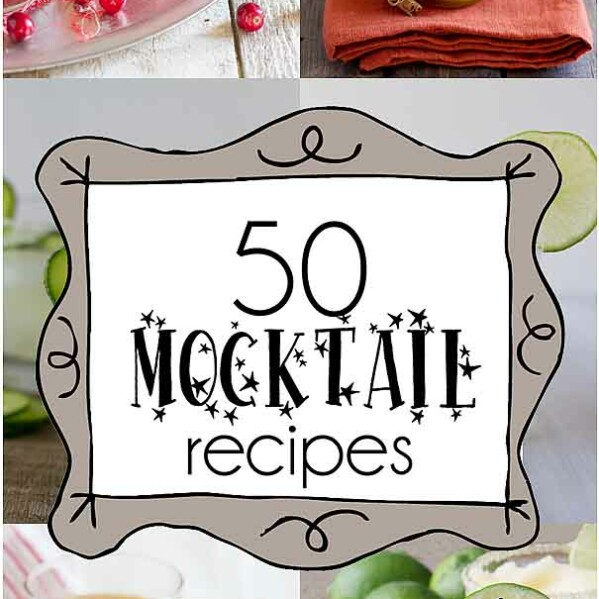 50 Mocktail Recipes - non-alcoholic drink recipes for every occasion!