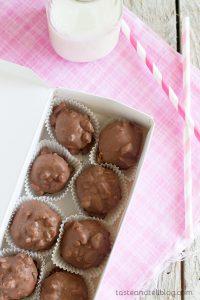 Cherry Nut Chocolates - Chocolate and Nut Covered Fondants