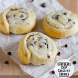 Chocolate Chip Crescent Cookies from www.tasteandtellblog.com