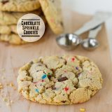 Chocolate Sprinkle Cookies from www.tasteandtellblog.com