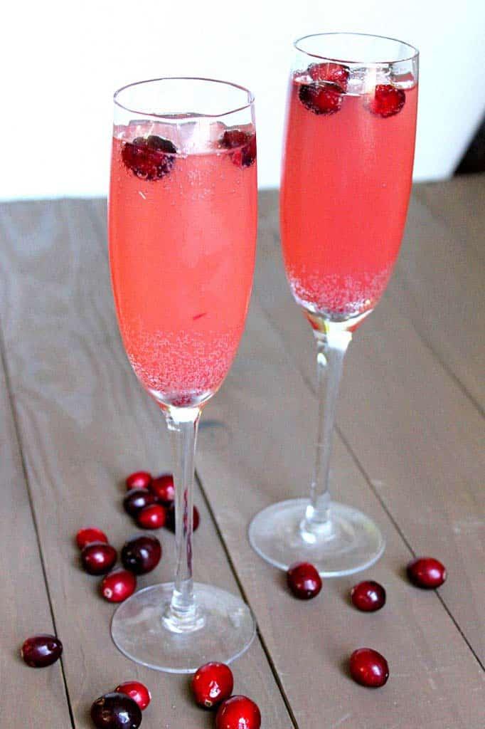 Cranberry Apple Spritzer from Belle Vie