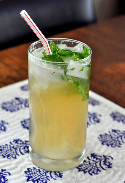 Ginger Mojito Mocktail from Taste as You Go