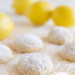 Gluten Free Lemon Snowball Cookies
