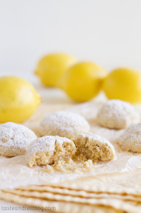Lemon Snowball Cookies from www.tasteandtellblog.com