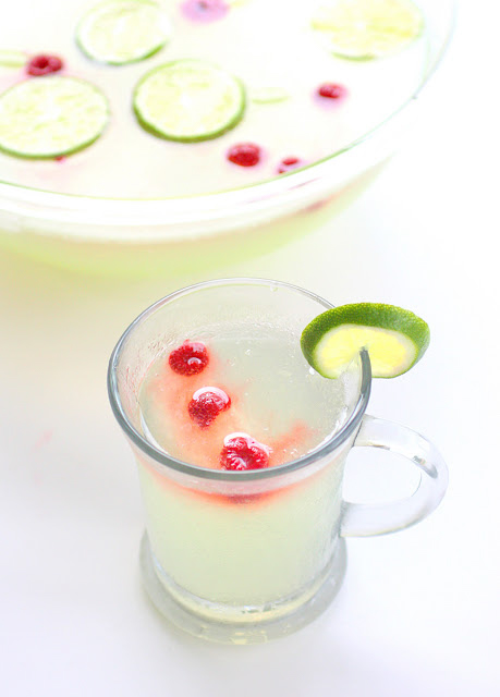 Limeade Punch from the Girl who Ate Everything