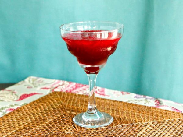 Persian Pomegranate Mocktail from Tory Avey