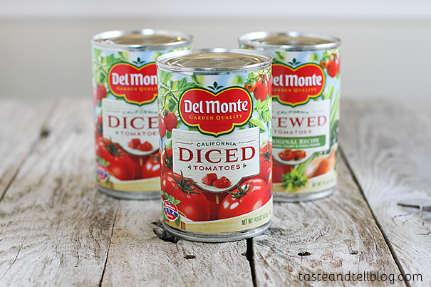Del Monte Canned Tomatoes