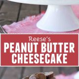 Reese's Peanut Butter Cheesecake Recipe