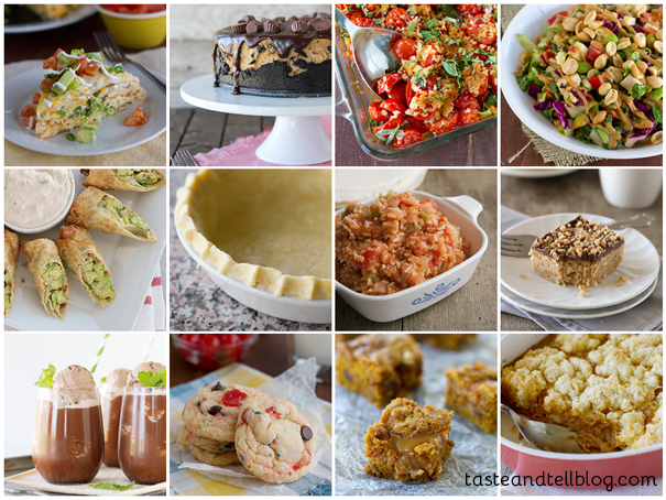 Top 12 Recipes Blogged in 2013 on Taste and Tell