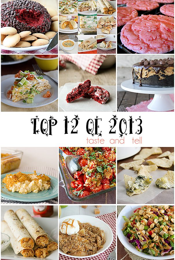 Top 12 Recipes of 2013 on Taste and Tell