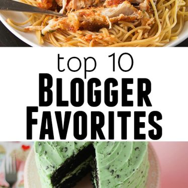 Top 10 Recipes from Bloggers on Taste and Tell