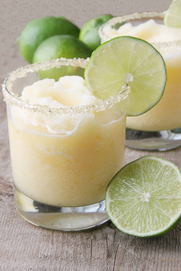 Whether for Taco Tuesday or for a favorite family get together - these Virgin Frozen Margaritas are always a hit!