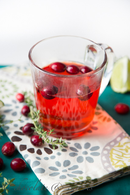 Warm Berry Cider from Chocolate and Carrots