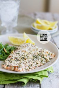 Almond Crusted Salmon on Taste and Tell