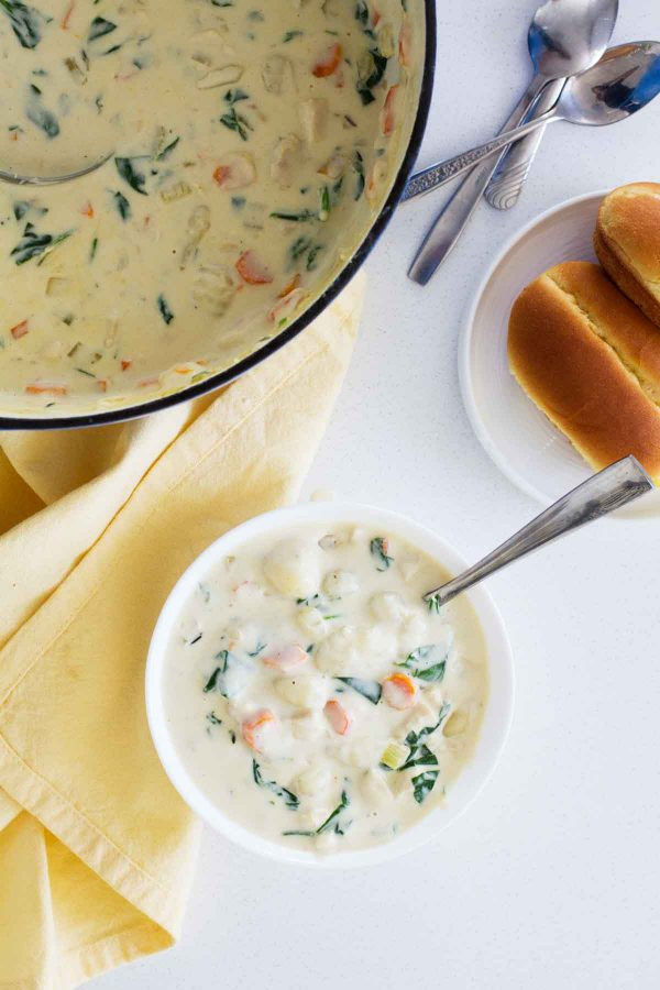 How to make Chicken and Gnocchi Soup