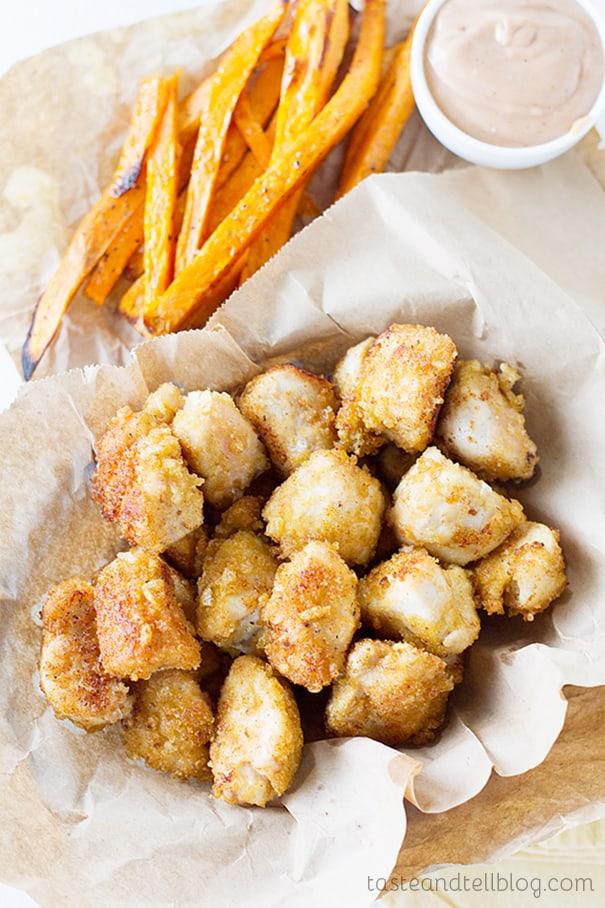 Crispy Chicken Nuggets Recipe On Www Tasteandtellblog Com