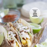 Fish and Chips Tacos on Taste and Tell