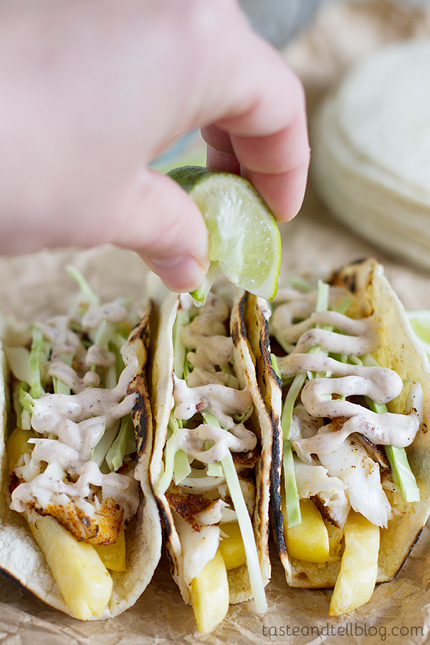 Fish and Chips Tacos recipe