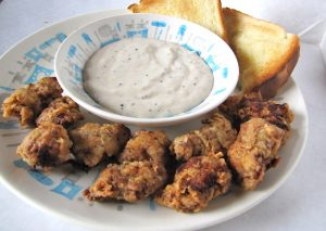 Chicken Fried Steak Bites from Miss in the Kitchen