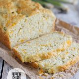 Peppery Cheese Bread on Taste and Tell
