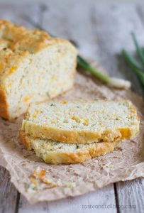 Recipe for Peppery Cheese Bread on Taste and Tell