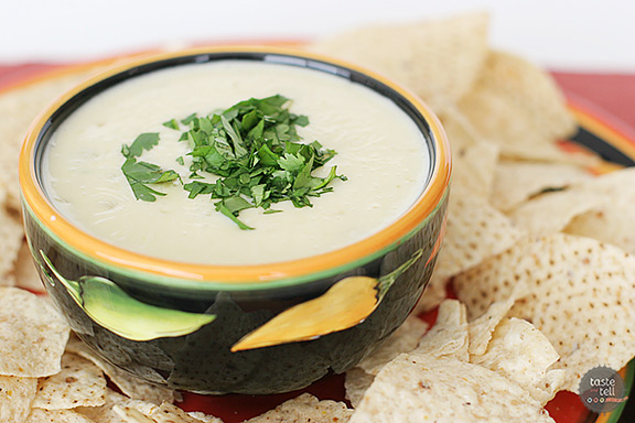 This Queso Blanco Recipe is a white cheese dip with a Mexican flare.